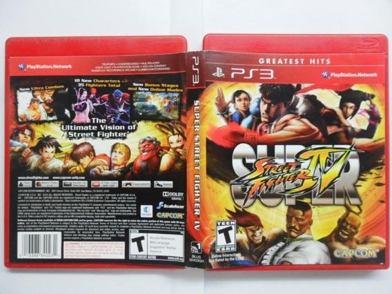 Frete Grátis Super Street Fighter 4 Ps3 (dvd)
