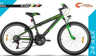 Bicicleta Aurora Rod 24 Asx-21cambios- Mountain- Woks!!-