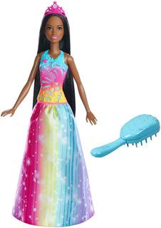 Barbie Dreamtopia Brunette Barbie Mariposa Muñeca Niña