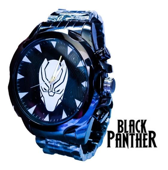 Relógio Masculino Marvel Pantera Negra Rx
