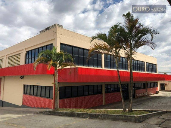 Galpão Industrial Reformado 1480m² , Pé Direito 8m E Com Escritório. - Ga0279