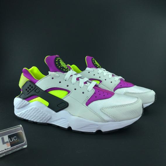 Tênis Nike Air Huarache Run Qs Magenta 100% Original