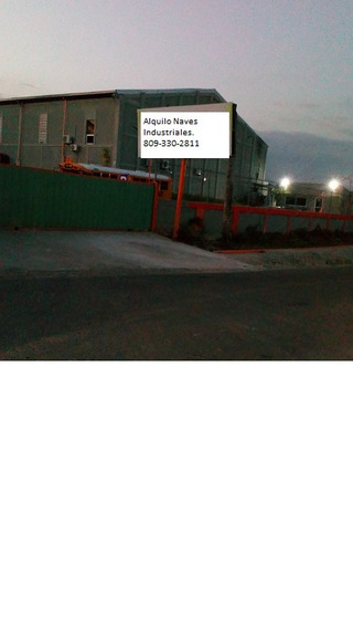 Alquilo-estratigica Nave Industrial- Km 22, Aut. Duarte.
