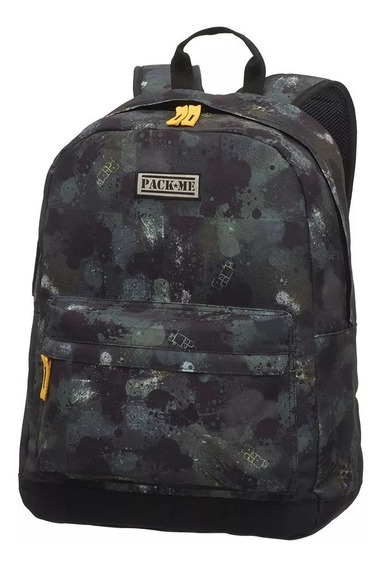 Mochila De Costas Pack Me Paintball 7481804 Pacific