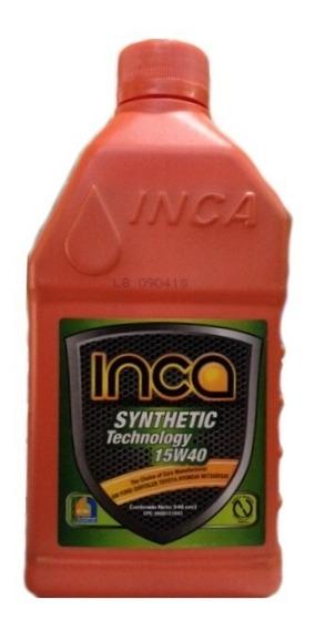 Aceite 15w40 Semisintetico Inca Motor Gasolina Api Sl 946cm3