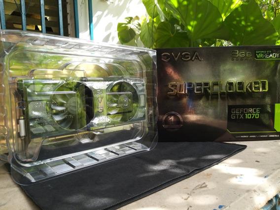Tarjeta De Video Geforce Gtx 1070 Evga Superclocked 8gb Ddr5