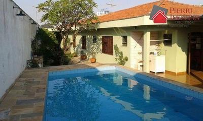 Casa Térrea Em Pirituba Com Piscina, 3 Dormitórios - 5017