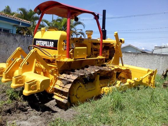 Trator De Esteira D6c Caterpillar Com Riper - Particular