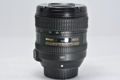 Nikon Af-s Nikkor 24-85mm F/3.5-4.5g Ed Vr Full Frame Fx/dx