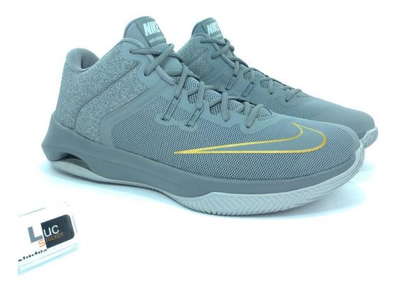 Tênis Nike Air Versityle 2 Grey Mid 100% Original