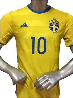 Jersey Suecia adidas Euro 2016 Ibrahimovic Con Número