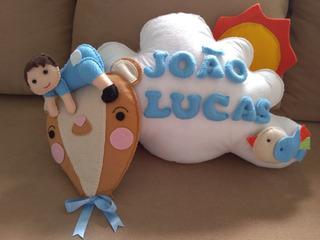 Porta Maternidade Feltro João Lucas