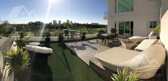 Departamento En Venta En Puerto Cancun/cancun Towers