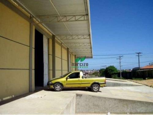 Galpão Industrial Para Locação, Granjas Rurais Presidente Vargas, Salvador - Ga0034. - Ga0034