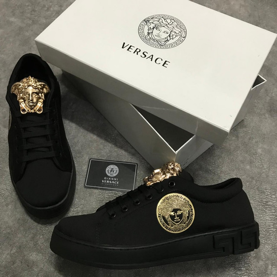 Tenis Zapatillas Versace Hombre Original