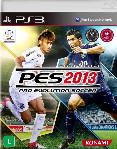 Game Play3 - Pes 2013 - Semi-novo Jogo Ps3