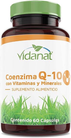 Coenzima Q10 60 Caps Evita Envejecimiento