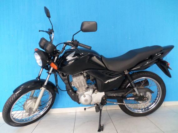Cg 125 Es 2010 Preta Revisada E Com Garantia!!!