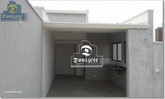 Cobertura 02 Dormitórios A Venda No Bairro Jardim -santo André -sp - Co1351