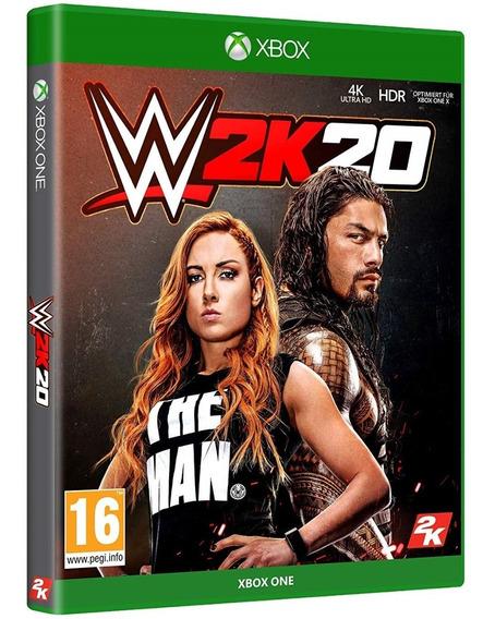 Game Wwe 20 2k20 W2k20 Xbox One Disco Fisico Novo Nacional