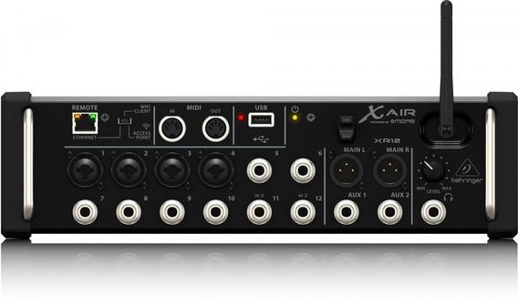 Mixer Digital X Air Xr12 Behringer 12 Canais Nfe 2 Anos Gar