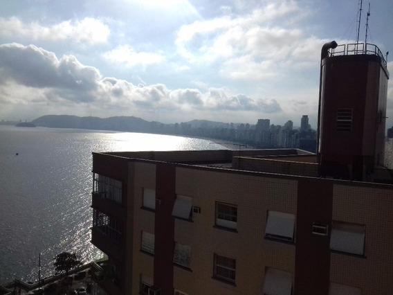 Apartamento Em Ponta Da Praia, Santos/sp De 135m² 3 Quartos À Venda Por R$ 550.000,00 - Ap93423
