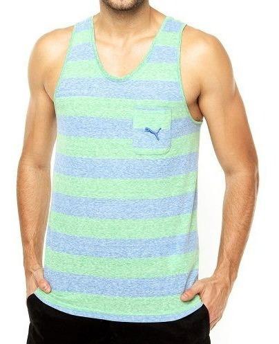 Camiseta Regata Puma Style Surf Wear Listrada Com Bolso