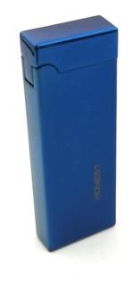 Encendedor Usb Recargable Color Azul A Prueba De Viento