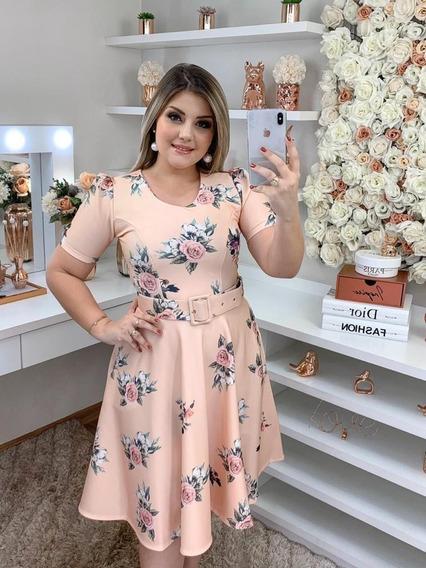 Mega Promoção-vestido Godê-moda Evangélica Comportada
