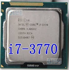 Processador Lga 1155 Core I7 3770 3a Geracao Frete Gratis