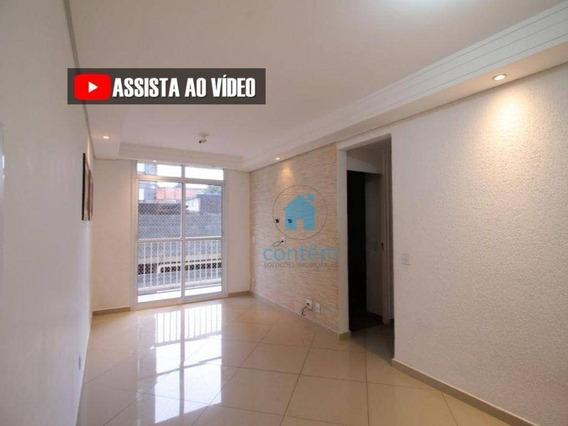 Ap1461- Apartamento Com 2 Dormitórios À Venda, 54 M² Por R$ 280.000 - Jardim Cirino - Osasco/sp - Ap1461