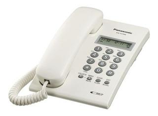 Panasonic Teléfono Kx-t7703x-b, Alámbrico, 16 Teclas, Blanco