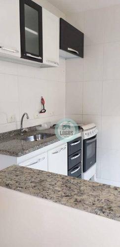Imagem 1 de 21 de Apartamento Com 1 Dormitório Para Alugar, 50 M² Por R$ 1.000,00/mês - Santa Terezinha - São Bernardo Do Campo/sp - Ap1880