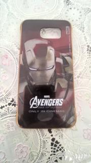 Capa Galaxy S6 Marvel Homem De Ferro Exclusiva