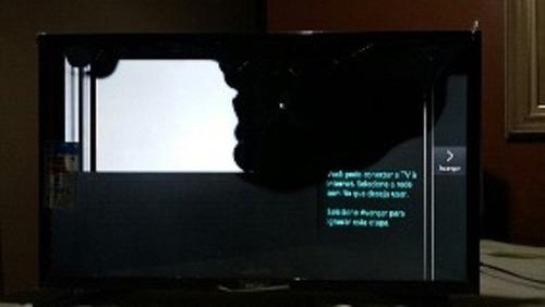 Imagem 1 de 1 de Smart Tv Led Wi-fi Samsung Mod Un40h6350 Tela Quebrada