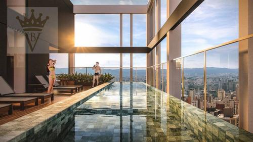Studio Com 1 Dormitório À Venda, 30 M² Por R$ 414.000,00 - Perdizes - São Paulo/sp - St0039