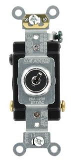 Leviton 1223-2kl 20-amp, 120/277-volt, Key Locking, 3-way Ac
