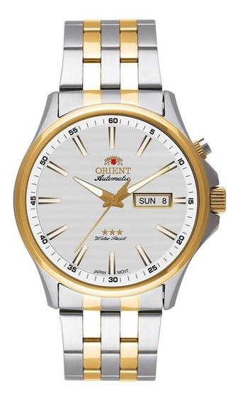 Relógio Orient Masculino Ref: 469tt043 S1sk Automático