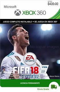 Fifa 18 Xbox 360 -- Español Latino + Envío Gratis