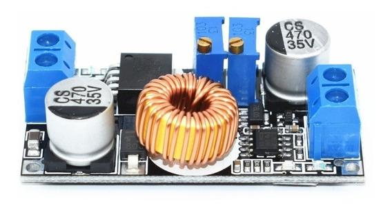 8 Regulador Com Ajuste De Corrente E Tens Xl4015 5a Arduino
