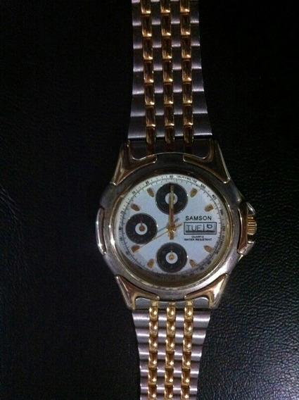 Relógio De Pulso Masculino Samson Quartz