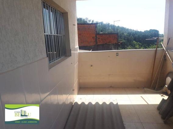 Casa Com 2 Dormitórios Para Alugar Por R$ 1.000/mês - Jardim Dos Eucaliptos - Caieiras/sp - Ca0489