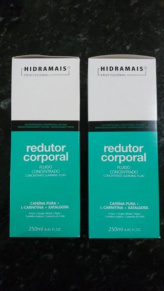 Kit Hidramais C/ 2 Fluido Concentrado Red. Corporal 250ml