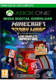 Jogo Minecraft The Complete Adventure Xbox Digital Código