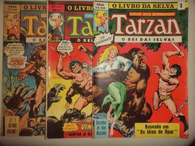 O Livro Da Selva 1 2 3 Tarzan Na Marvel Ebal 1978 Otimas