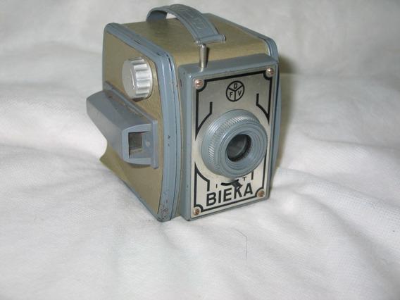 Camera Antiga Bieka Dfv Rara -kodak-rolley-asahi-leica-