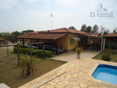 Chácara Residencial À Venda, Barão Geraldo, Campinas - Ch0247. - Ch0247