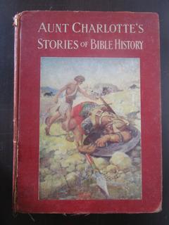 Año 1898 Historias De La Biblia Ilustrada Libro Muy Antiguo