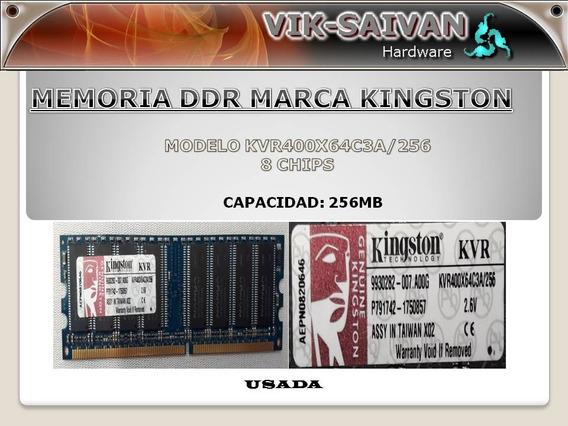 Memoria Ddr Kingston 256mb Pc-3200 400mhz 8 Chips 43