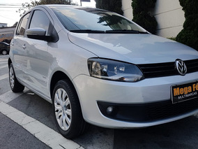 Volkswagen Fox 1.6 Prime Vht Flex 2013 Prata Completo